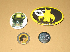 Gamescom  Pin / Anstecker / Button : Silence / Affordable Space Adventures etc
