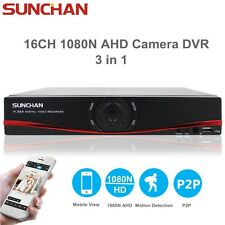 16CH Full HD 1080N HDMI Standalone AHD DVR 960P Camera Digital Video Recorder