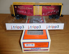 LIONEL 6-83175 CHRISTMAS SONGS 2016 MUSIC BOXCAR O GAUGE TRAIN HOLIDAY SOUNDS