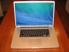 "ULTIMATE!! Apple Macbook Pro 17"" 2.2 GHz Quad i7 + 1 TB Solid State Drive!!"