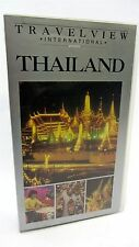 VHS - Travelview International  THAILAND 1989 Siam, Bangkok, Chao Phraya, Phuket