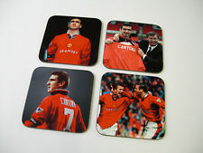 Eric Cantona Man Utd Legend COASTER Set