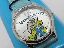 2008 AVON SMURF 50th Anniversary Collectors WATCH RARE - FREE SHIPPING - U2098