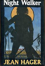 Night Walker by Jean Hager-1990-1st Ed./DJ-Review Copy-Mitch Bushyhead Mystery