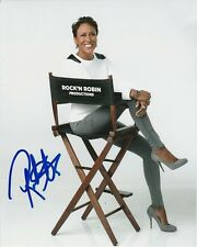 Robin Roberts Signed Autographed 8x10 Good Morning America Photograph