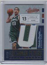 Malcolm Brogdon 2016-17 Panini Absolute Rookie Letter Patch #5/10 Bucks