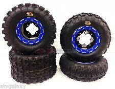 DWT G2 Beadlock Rims GBC XC Master Tires Front/Rear XC Kit Yamaha Banshee YFZ450