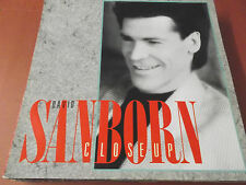 DAVID SANBORN: CLOSE-UP: VINYL LP MADE IN GERMANY: 1988: OIS: MARCUS MILLER