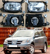New A pair Left & Right Front Fog Lights Lamp For Mitsubishi Outlander 2003-2006