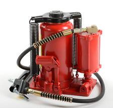 20 Ton AIR over Hydraulic BOTTLE JACK Automotive Shop Lift Tools HD Jacks 90344