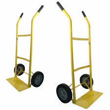 HAND TROLLEY WHEEL BARROW 80KG INDUSTRIAL TYRE SACK TRUCK LIFTER MOVER CART