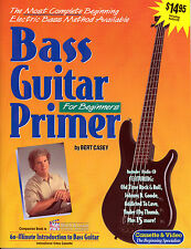 Learn How to Play Bass Guitar Music Book & Audio CD