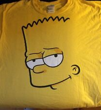 ** T-SHIRT Childs XL THE SIMPSONS BART PEEKABOO YELLOW