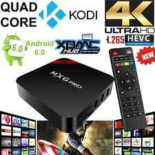 MXG Pro KODI(XBMC) Quad Core Android 6.0 TV Box 4K Ultra HD Media Player UK