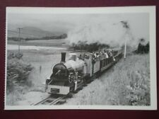 POSTCARD RAVENGLASS & ESKDALE RLY - LOCO 'NORTHERN ROCK' 15 IN GAUGE