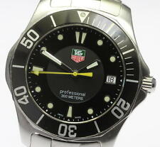 Authentic TAG Heuer AQUARACER  WAB1110 Date Quartz Men's Wrist Watch_335222
