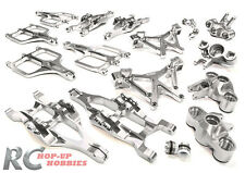 Integy C25958SILVER Aluminum Billet Machined Suspension Set Traxxas EMaxx T-Maxx