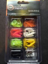 45  pack Crappie jigs Grub 7 Colors Fishing Lures Panfish New in Pack