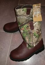 NEW Toddler Boys Girls REALTREE Camoflauge Country Western Boots Cowboy Camo 9