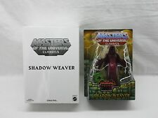 MOTU,MOTUC,SHADOW WEAVER,MASTERS OF UNIVERSE,CLASSICS,HE-MAN,Sealed,MOSC