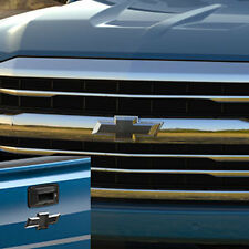 2016-2017 Chevy Silverado 1500 Genuine GM Accessory Black Bowtie Kit 23303572