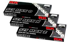 RK Chain 525 Max O-Ring Sealed Motorcycle Chain 130 Links 525MAXO-130 1222-0432