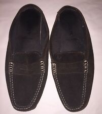 J Crew Women's Brown Suede Driving Loafer Moccasins Size 10 Made In Italy
