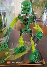 Lego Bionicle Technic 8535 Toa Lewa  Figure Very Good Instructions no canister