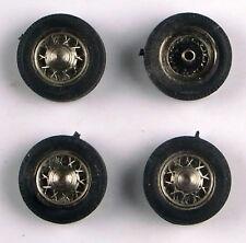 1/43e: jeu de 4 roues à rayons Robergel diamètre jante: 10mm