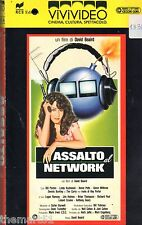 Assalto al Network (1987) VHS ViViVideo 1a Ed.  -   David Beaird