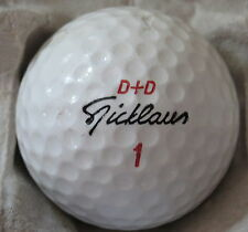 (1) JACK NICKLAUS SIGNATURE LOGO GOLF BALL (CIR 1988 D+D ) #1