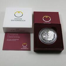 Österreich 20 Euro 2011 Silber PP Carnuntum