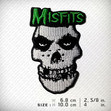 MISFITS Embroidered Patch Iron On, Horror Hardcore punk Heavy metal HOBBY D.I.Y