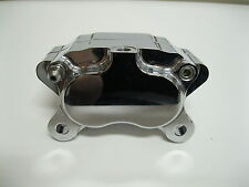 Polished Ultima 4 Piston Caliper for Harley Models and Custom Applications