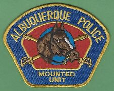 ALBUQUERQUE NEW MEXICO POLICE MOUNTED PATROL PATCH STYLE 1