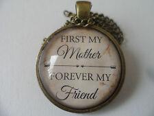 Mère amitié Citation , Pendentif et 53.3cm chaîne Noël cadeau pour maman
