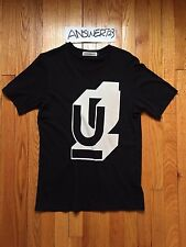 Undercover Block U-Print T-shirt Black Size 2 Bear Witch