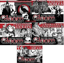 GLOOM CARD GAME + 4 EXPANSION BUNDLE NEW SEALED