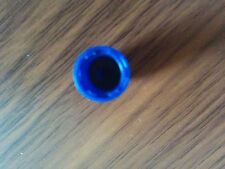 Quantity 100 - Premium Nitrogen Tire Valve Cap - Blue with O-ring