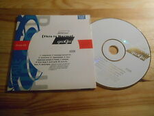 CD Indie GusGus - This Is Normal (11 Song) Promo 4AD REC cb