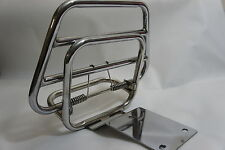 VESPA 125/150 VBB LVB VBC GS Stainless Steel Rear Folding Luggage Rack