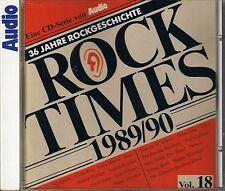 Audio Rock Times Vol. 18 1989-90 CD Various Audiophile