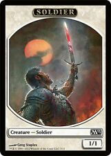 10x*Soldier Token*SAME ART*Magic 2013**Magic the Gathering MTG**FTG