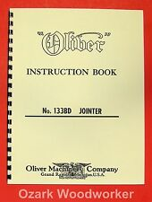 "OLIVER 133-BD 6"" Jointer Operator's and Parts Manual 0804"