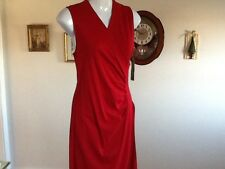 RALPH LAUREN COLLECTION DRESS RED S  NWT