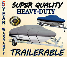 "Boat Cover fits 17'-19' V-Hull Center Console beam to 96"" W/ BOW RAILS"