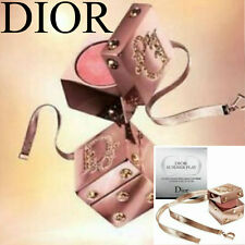 100% AUTHENTIC Ltd Edition DIOR PLAY SWAROVSKI DIAMOND JEWEL MAKEUP GOLD CHARM