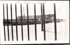 VINTAGE 1916-1925 EL PASO TEXAS OLD CARS UNDER BILLBOARD ADVERTISING SIGNS PHOTO