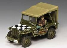 King & Country AF029  The 'Follow-Me' Jeep - RETIRED - Mint in the Box