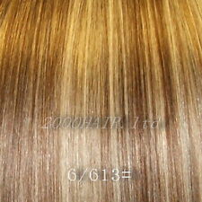 """18"""" Clip In Remy Human Hair Extensions Half Head 6 Piece - All Colours"""